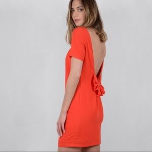 Molly Bracken Open Back Dress with Bow Detailing